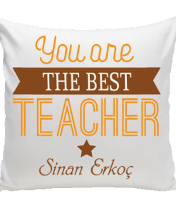 Best Teacher Yastık