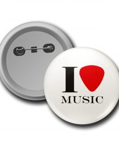I Love Music Rozet