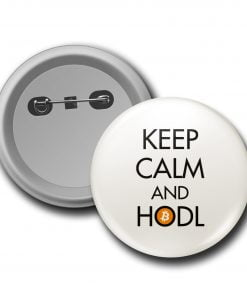 Keep Calm and Hodl Rozet
