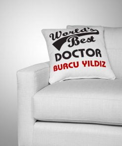 World's Best Doctor Yastık